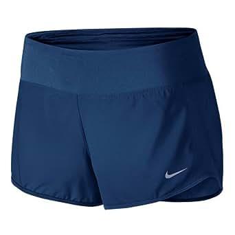 New Nike Women's Dry Running Short Binary Blue Large