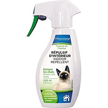 Francodex - repulsif D Interieur gato 200 ml: Amazon.es: Productos para mascotas