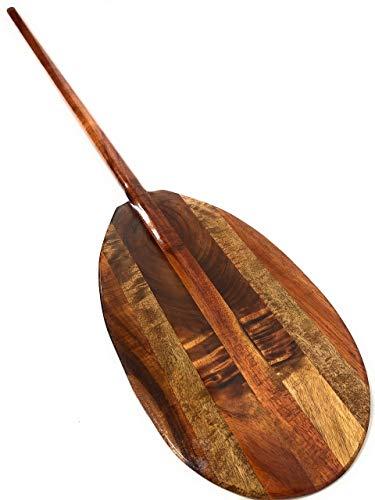 Tikimaster Architectural Extra Large Koa & Mango Canoe Paddle 72