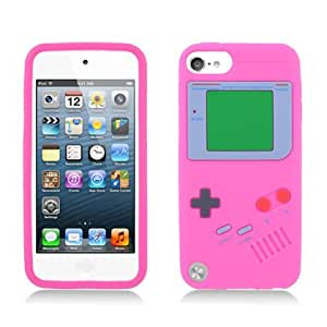 Amazon.com: p2s88 Hot Pink silicona suave Skin Nintendo ...
