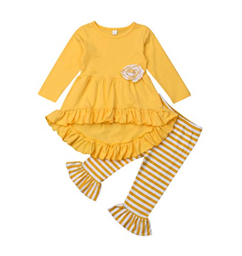 Toddler Girl Boutiques - Toddler Little Girls Ruffle Flare Tunic