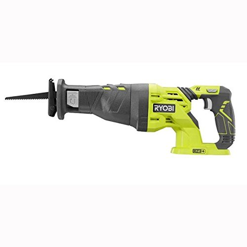 (Ryobi P516 18V Cordless One+  Variable Speed Reciprocating Saw w/1 Blades (Battery Not Included / Power Tool Only))