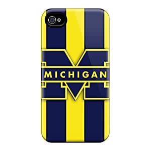 Premium Diy Michigan Wolverines Logo Fashion Ipod Touch 5 Case Cover Cases Covers