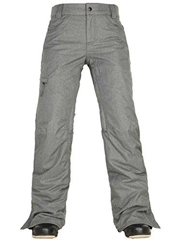 686 Womens Pants - 686 Women's Authentic Patron Insulated Pants Steel Melange Pants