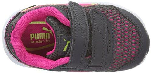 Puma Descendant V4 V - Zapatillas Unisex Niños Multicolor - Mehrfarbig (Periscope-Pink Glo 03)