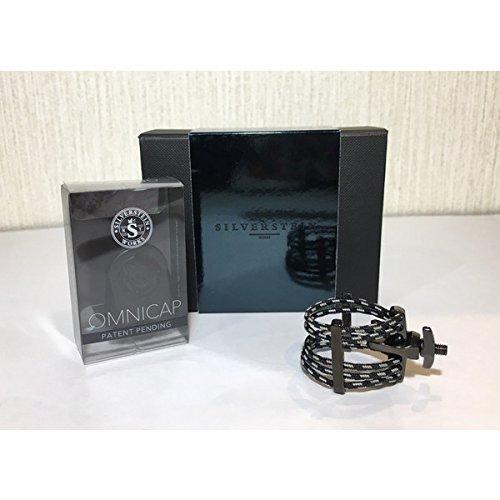 SILVER STEIN (シルバースタイン) A-Frameオリジナルリガチャー Carbon black カーボンブラック 各種 (TSAX/Medium) B075HGVDQY TSAX/Medium