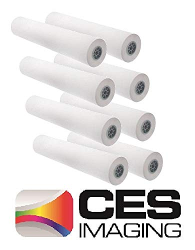8 Rolls 36'' X 150' (36 Inch X 150 Foot) 20lb Bond Paper 2'' Core. By CES Imaging by CES Imaging