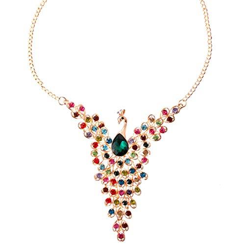 UBBC Colorful Peacock full diamond vintage -