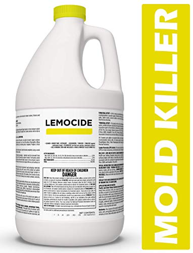 Professional Disinfecting Mildew, Virus & Mold Killer - Cleans & Deodorizes, Lemon Scent (1 Gallon Super Concentrate) from EcoClean Solutions