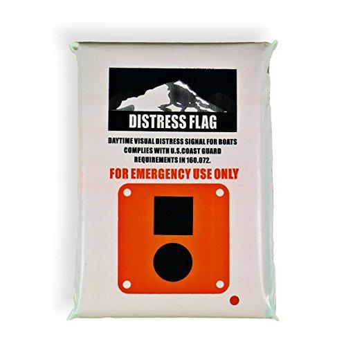 Goglobe Marine S.O.S. Distress Flag (3 Feet)