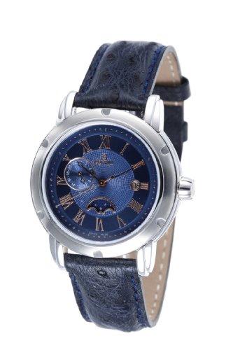 Gevril Prime Minister M0111R3L - Reloj de caballero de cuarzo, correa de piel color azul claro: Gevril: Amazon.es: Relojes