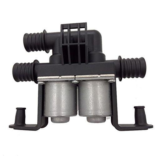 - 64128374995 1147412137 HVAC Water Heater Control Valves Dual Solenoid for BMW E39 525i 528i 530i 540i M5 E53 X5