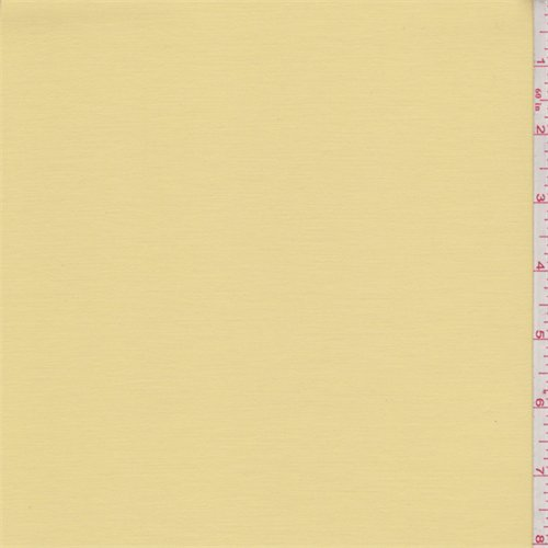 Deep Yellow Stretch Sateen, Fabric by The Yard