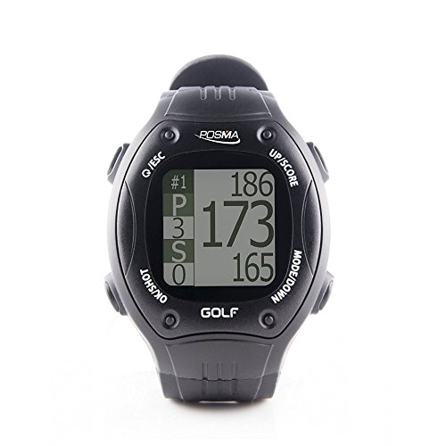 IDS Home POSMA GT1Plus Golf GPS Watch, Golf Band Range Finder, Preloaded Worldwide Golf Courses, No Download No Subscription by IDS Home