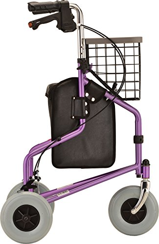 Nova productos médicos - viajero de 3 ruedas andador, color ...