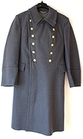 Soviet USSR Russian Military Army Oficer parade Wool Overcoat ...