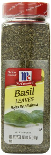 McCormick Basil Leaves, 5-Ounce (Pack of 4)