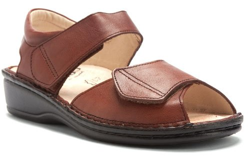 Finn Comfort Women's Faro Sandal B0016FZN4Q 35 EU (US Women's 4 M)|Rinde Brown Ranch