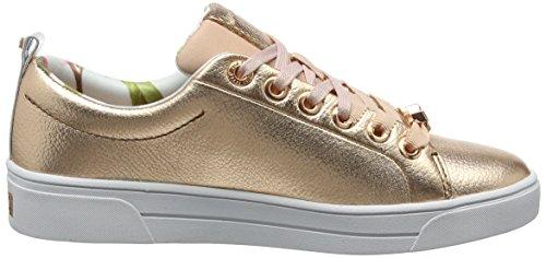 Ted Baker Kellei, Sneaker Donna Oro (Rose Gold)