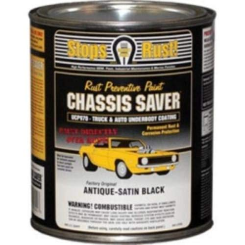 Magnet Paint Co Chassis Saver - Satin Black - MPC-UCP970-04 (Quarts)
