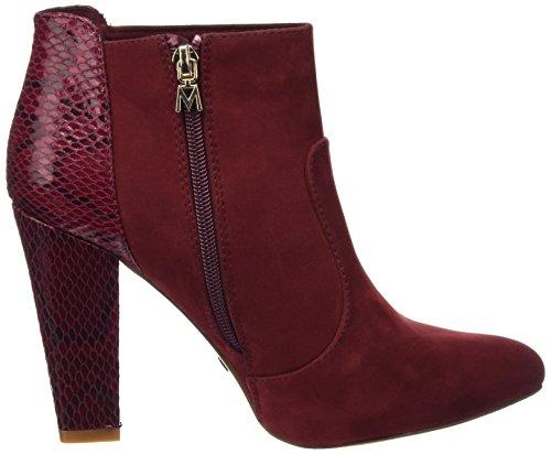 Serpiente Mujer Burdeos Tacón Rojo 61378 Mariamare Burdeos Peach Zapatos De wqa8cO4