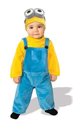Rubie's Baby Boys' Minions Bob Romper Costume, Yellow, 3-4 Years X-Small