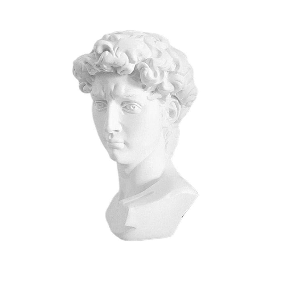 TOMMY LAMBERT 15 cm Statua Ornamentale in Resina con Immagine di David
