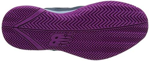New Balance Womens Wc696v2 Lt Gewicht Tennisschoen Grijs / Paars