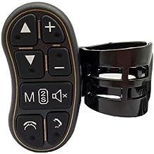 Steering Wheel Control, COROTC Universal Car Stereo DVD Player GPS Navigation System Steering wheel control Key with Audio Volume Bluetooth Switch (Steering Wheel Control) (Steering Wheel Control Key)