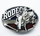 belt buckle vintage cowboy