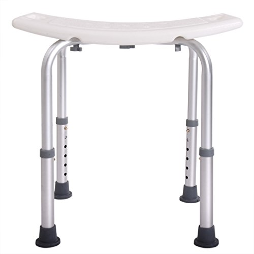 JAXPETY 6 Height Adjustable Bath and Shower Seat Top Rated Shower Bench by JAXPETY (Image #4)