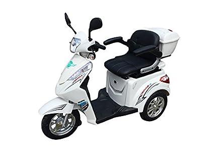 Scooter, Scooter eléctrico, Scooter con tres ruedas, Scooter para personas mayores y discapacitados