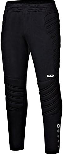 Jako TW Striker Pantalon de Gardien But Pantalons Tous 13-14 ans, noir