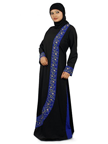 Gestickte Frauen MyBatua Shahina Abaya Designer xPAzwY