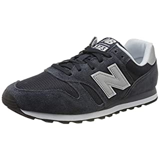 New Balance Men's 373 V2 Sneaker, Outerspace/White, 11.5 M US
