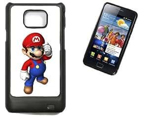 Samsung Galaxy S2 i9100 Hard Case with Printed Design MARIO