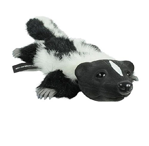 Realistic Animal Dog Toy Stuffing Free with Squeaker Possum