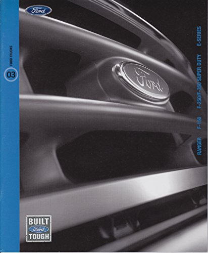 2003 Ford Trucks Sales Brochure - Full Color 29 Pages