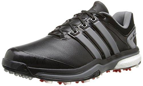 adidas Men's Adipower Boost-M, Iron Metallic/Core Black, 7 M US