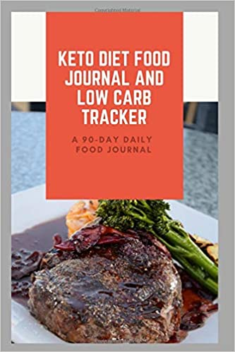 keto diet food journal and low carb tracker 90 day daily food