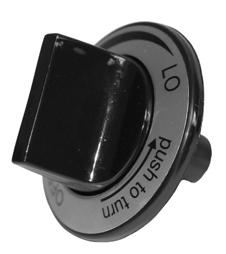 Music City Metals 00110 Plastic Control Knob Replacement for Select Gas Grill Models