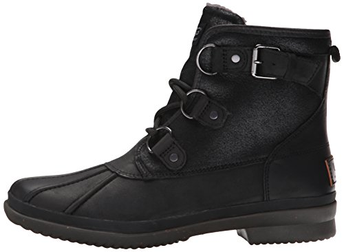 UGG Women's Cecile Winter Boot, Black, 8 B US by UGG (Image #5)