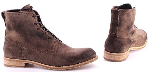 Scarpe Stivaletto Uomo BELSTAFF 77800184 Alperton Boots Man Taupe Camoscio Italy