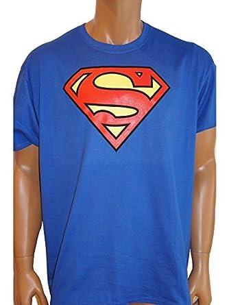 894d3a27adc63 Superman - Enfants - T-shirt Superman classique - Bleu