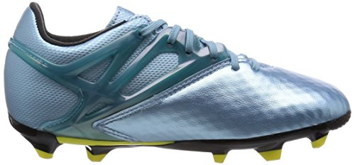 adidas Messi 10.1 FG/AG Jungen Sneaker Blu (Matt Ice Met.F12/Bright Yellow/Core Black)