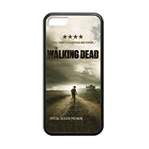 Casebynow The Walking Dead Plastic TPU Case Cover Skin For iphone 5/5s iphone 5/5s