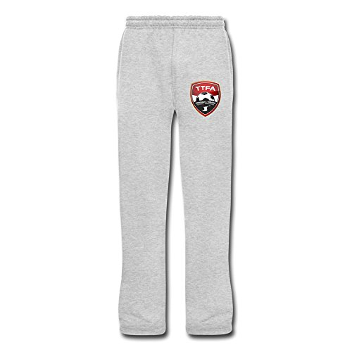 obago Football Team Graphic Sweatpants With Pockets L Ash By Rahk ()