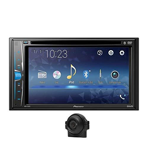 Pioneer AVH-211EX 6.2 Inch Multimedia Recevier with Built-in Bluetooth in-Dash CD/D Bundled w/Vehicle Back Up Camera