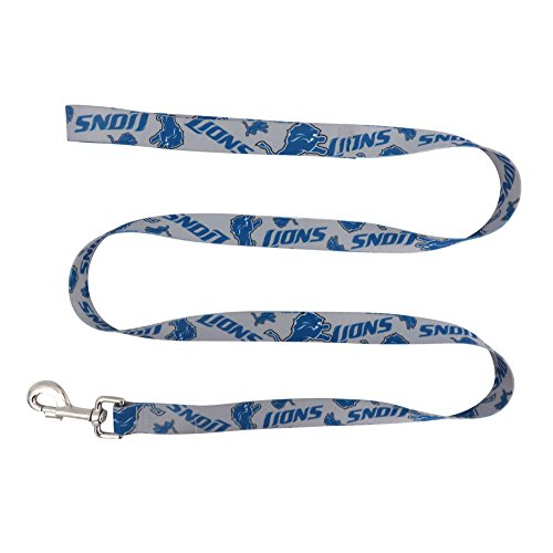 NFL Detroit Lions Team Pet Lead, 0.75-inches by 60-inches