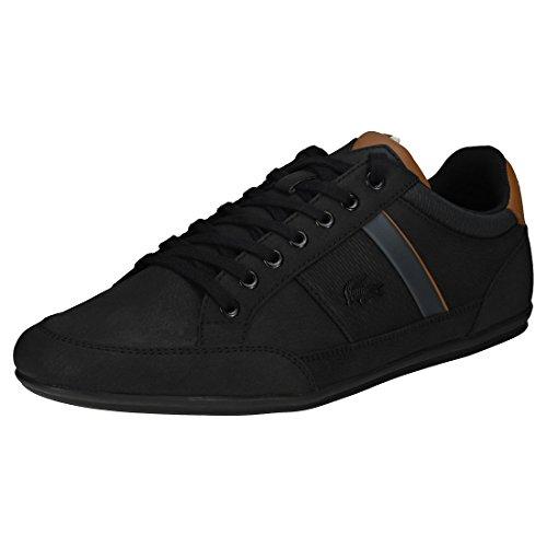 Lacoste Chaymon 318 2 Cam, Sneaker Uomo Nero (Blk/Brw 094)